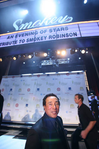 Smokey Robinson and marquee