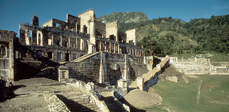 The Sans Souci Palace
